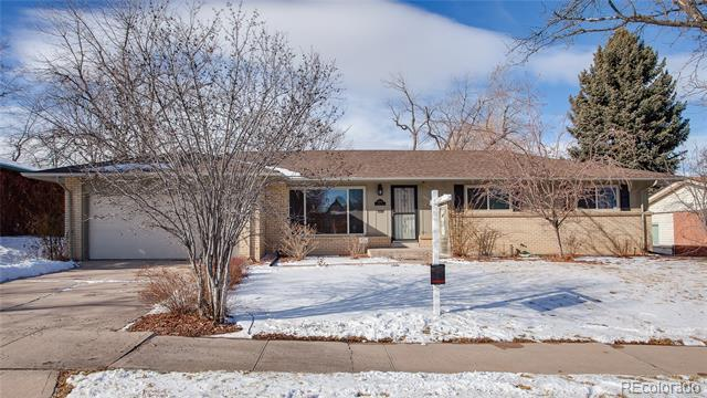 Photo of home for sale at 3555 Holly Street South, Denver CO