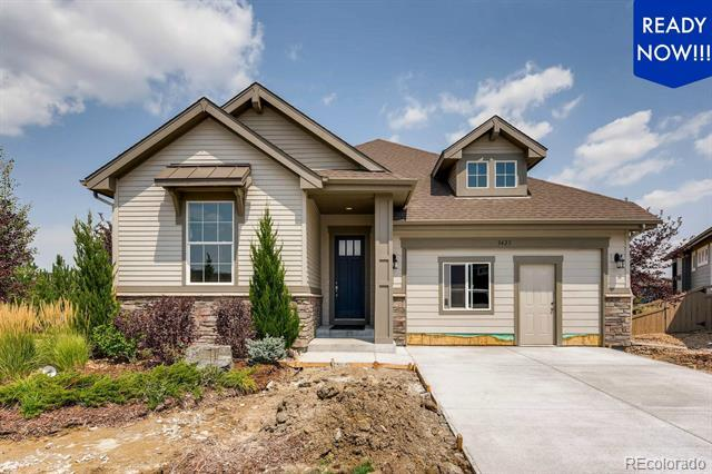 Photo of home for sale at 3423 Goodyear Street, Castle Rock CO