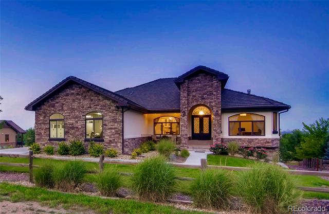 Photo of home for sale at 4880 Easley Road, Golden CO